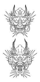 Flash Dragon japonais fait par Wan