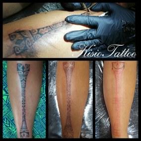 Tatouage Maori Freehand fait par Kisio