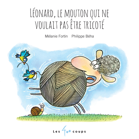 Léonard, le mouton qui ne voulait être tricoté