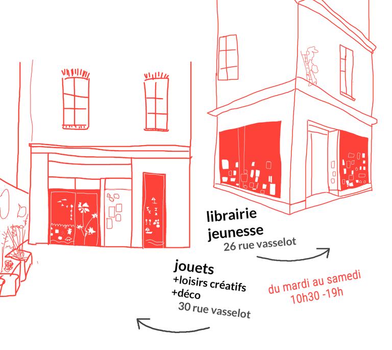 La Courte Échelle 26-30 rue Vasselot Rennes