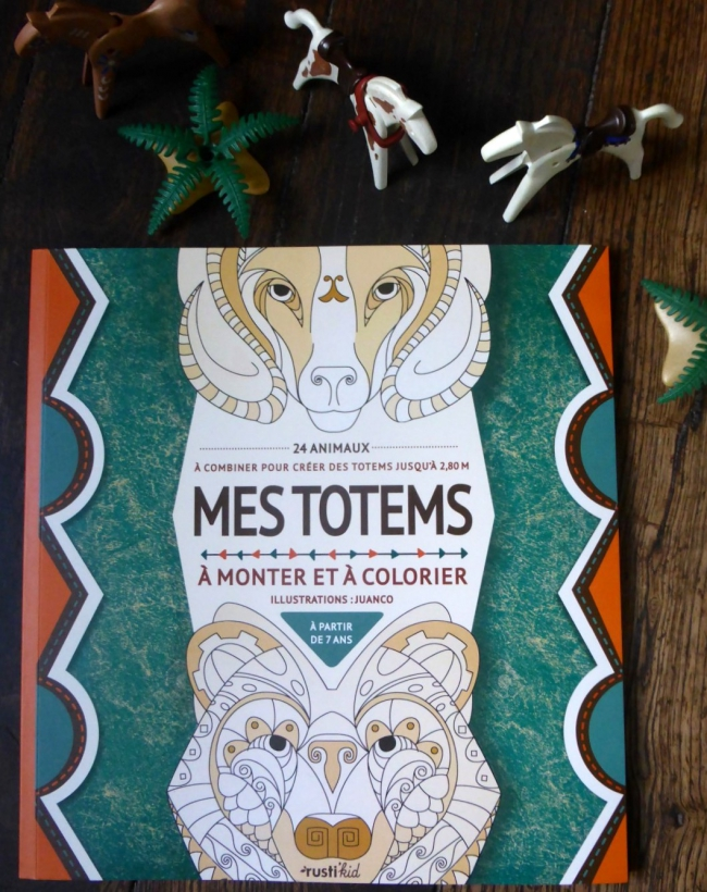 totems, rusti'kid, courte échelle, activités enfants