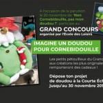 Jusqu'au 30 novembre – Concours Un doudou pour Cornebidouille !