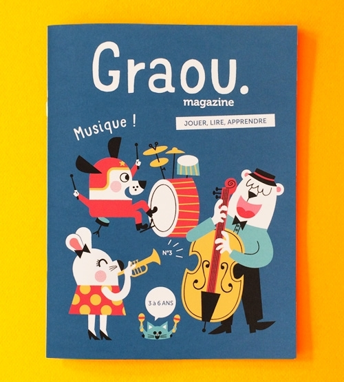 magazine georges, graou