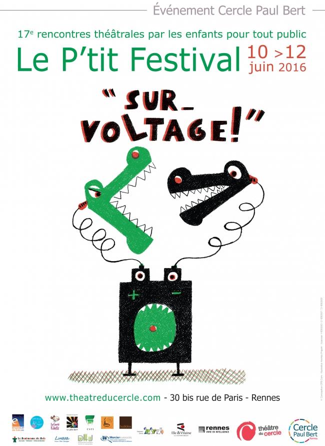 le p'tit festival, rennes, théâtre du cercle, andrée prigent