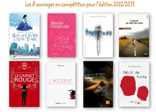 librairie la courte échelle, prix ados 2013