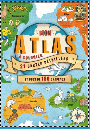 atlas, coloriage