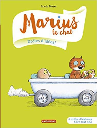 Marius le chat Drôles d'idées