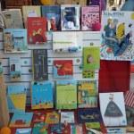 Les livres d'Albertine, Prix Hans-Christian Andersen 2020, sont dans notre vitrine, et aussi à l'intérieur…