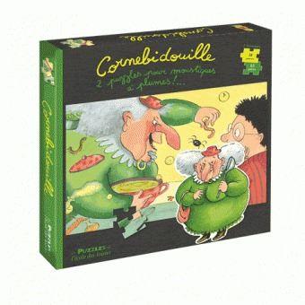 Puzzle Cornebidouille (x2), 63 et 40 pcs, Playbac x L'école des loisirse