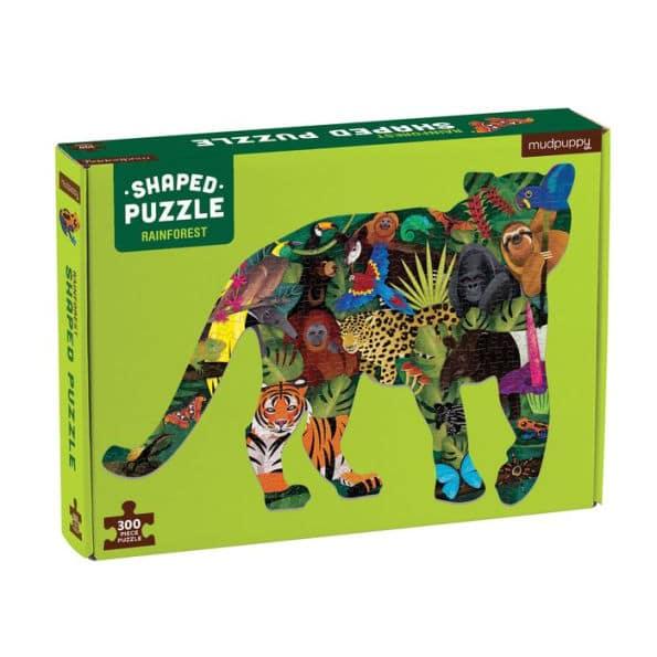 Puzzle Forêt tropicale, 300 pcs, Mudpuppy