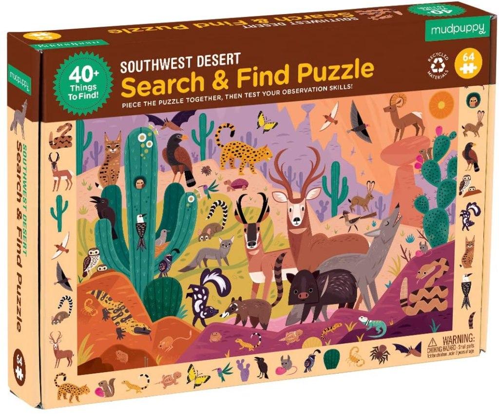 Puzzle Désert du sud-ouest, 64 pcs, Mudpuppy