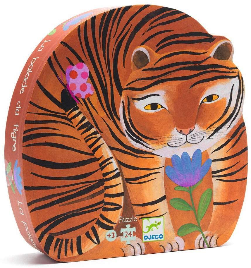 Puzzle Tigre, 24 pcs, Djeco