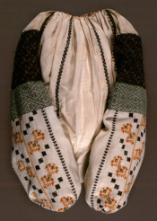 Woman's shirt, early 20th century. Ukrainian Museum, New York. From Invitation to a Wedding