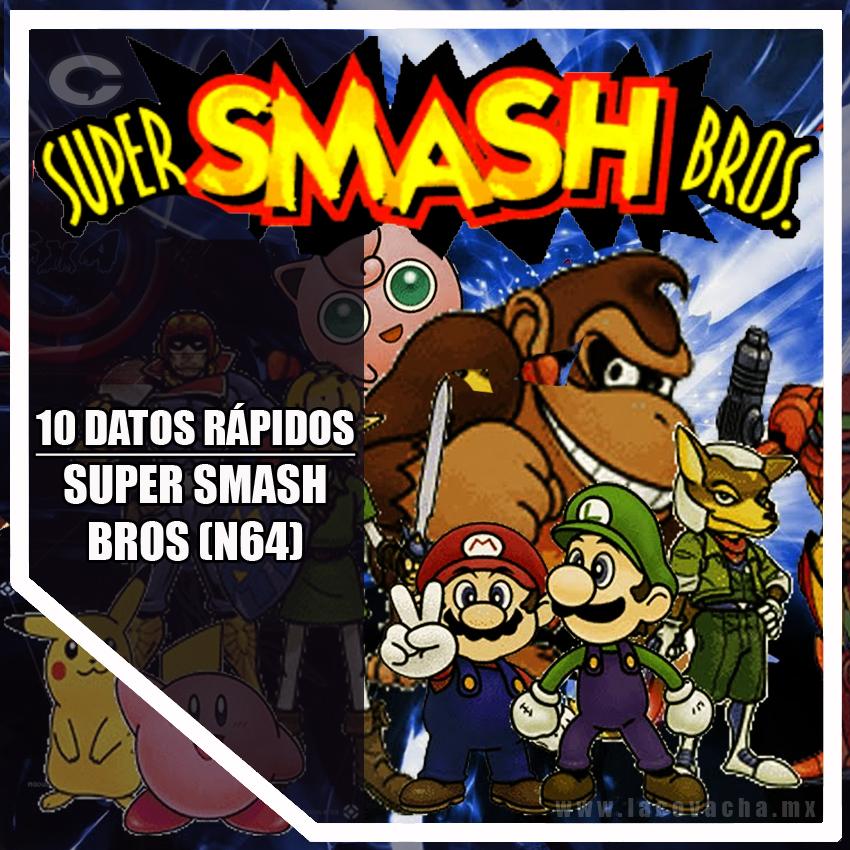 10 DATOS RPIDOS SUPER SMASH BROS NINTENDO La Covacha