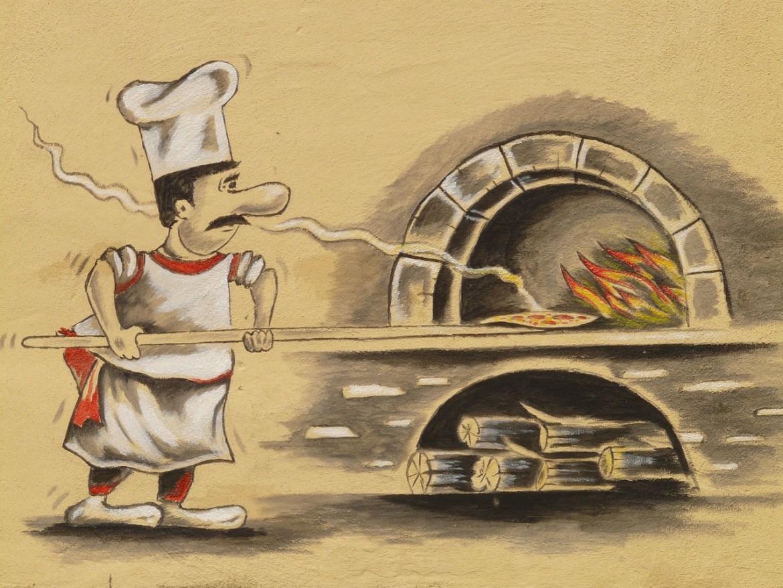 Topping pentru pizza – bacon și feta