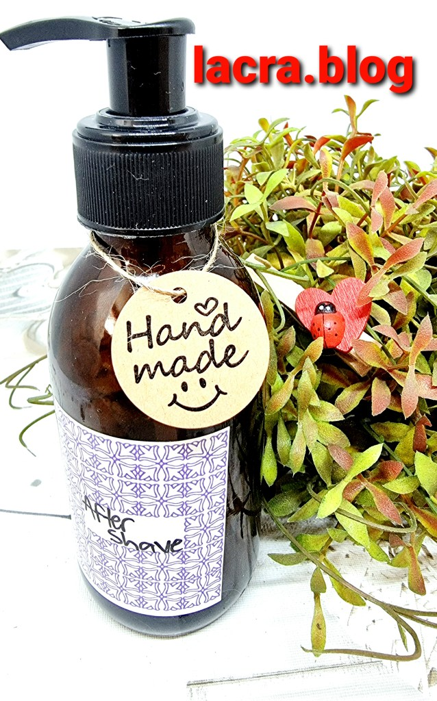 DIY home made after shave
