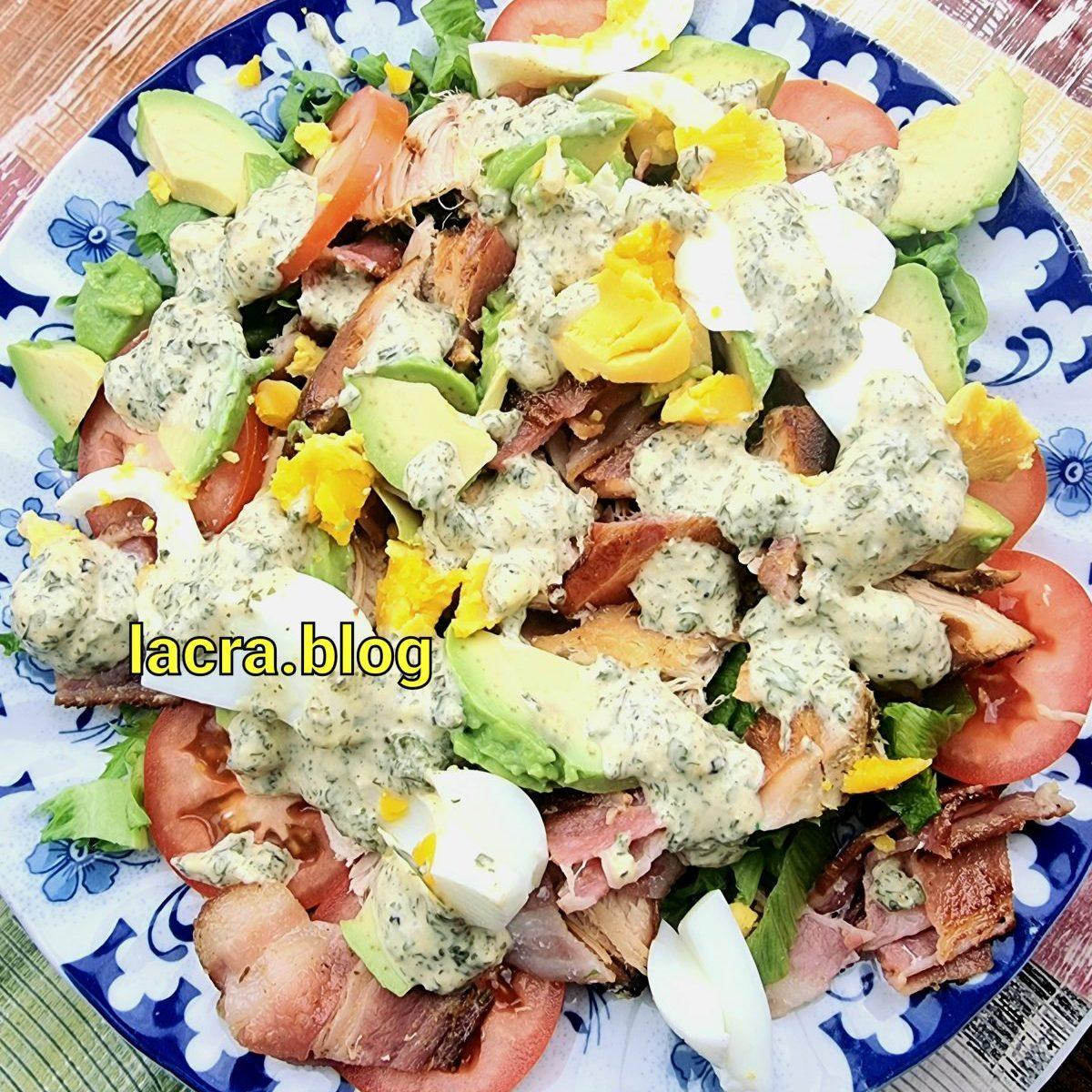 Salata Cobb keto