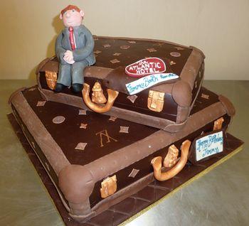 Birthday Cakes Suitcase Cake For The Atlantic Hotel
