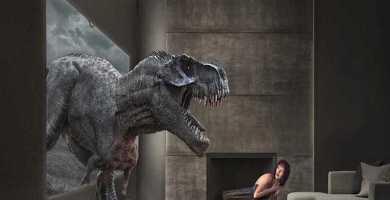 soñar con dinosaurio