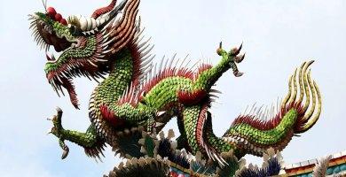soñar con dragón