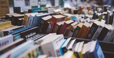 soñar con librería