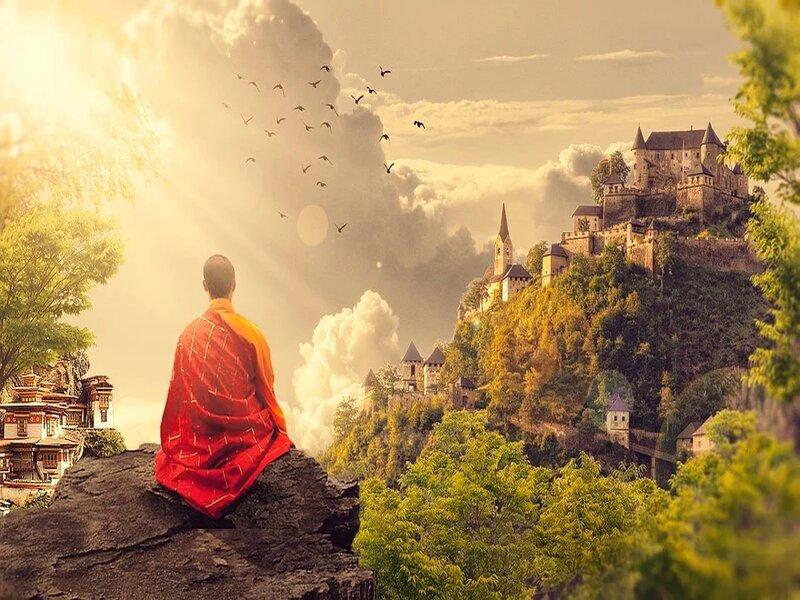 soñar con meditar