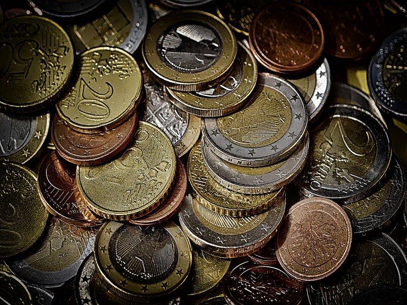 soñar con monedas