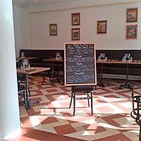 Croix Blanche, salle de restaurant