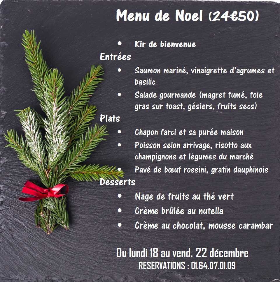 Plate, background for New Year or Christmas menu