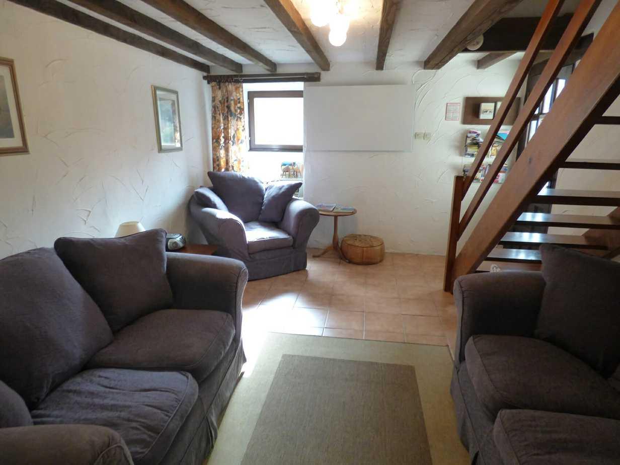 Baudelaire's sitting room
