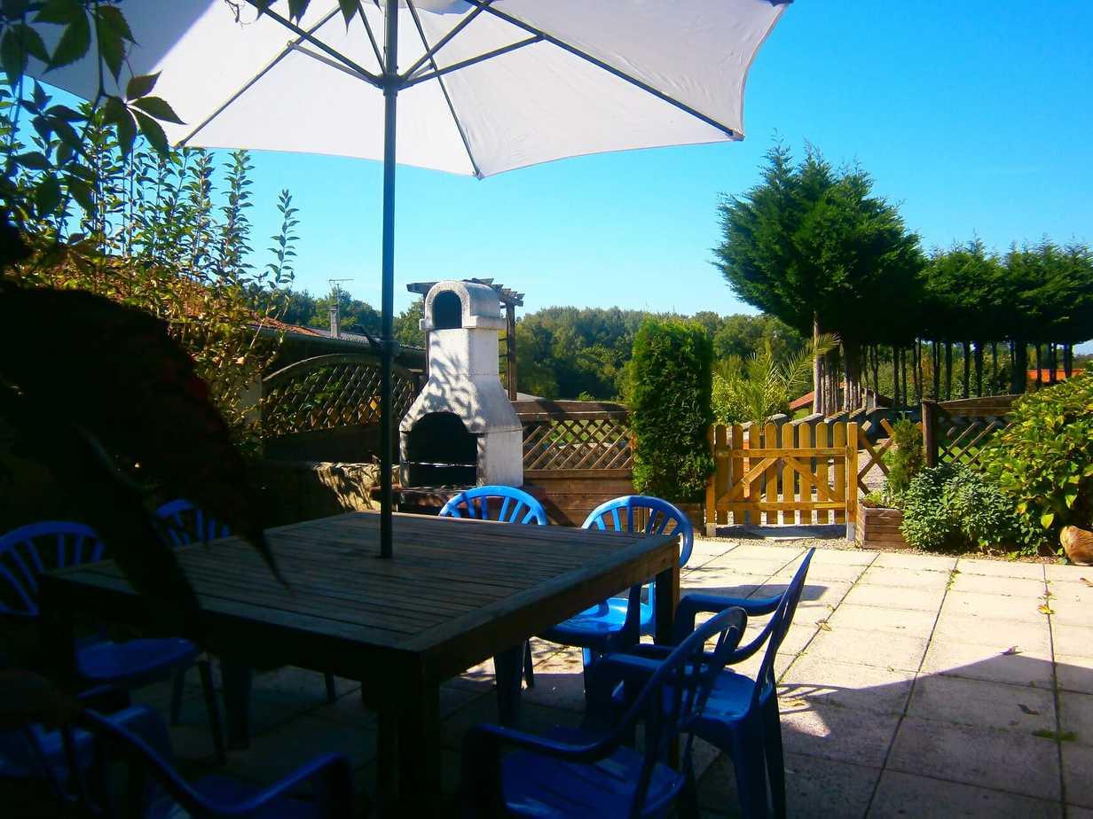 Corneille's patio