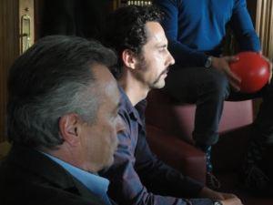Óscar Martínez y Paco León
