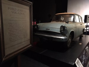 El Ford Anglia volador de HARRY POTTER THE EXHIBITION
