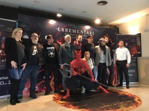 Eneko Sagardoy - El equipo de la película posando en el photocall