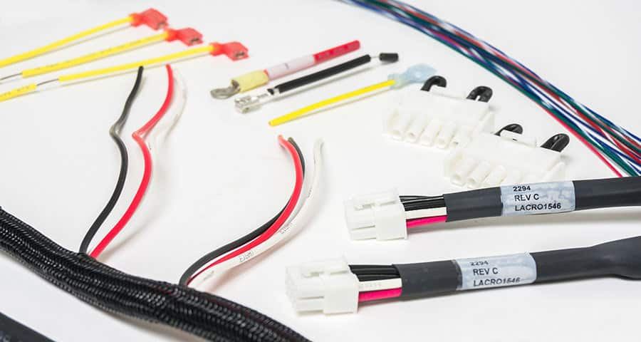 Braided Wire Harnesses And Custom Color Braiding