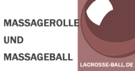 Massagerolle und Massageball