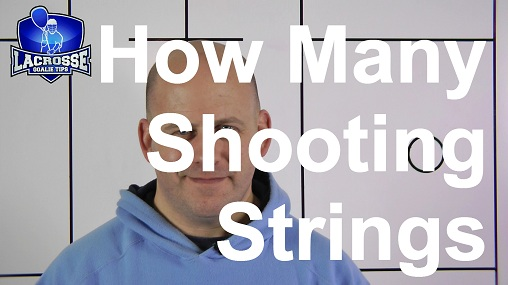 How many shooting strings?  What can I do if no one is around to shoot on me?