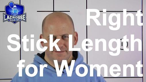 Length of a Women's Lacrosse Goalie Stick