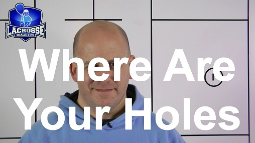 """This Lacrosse Goalie Wants To Know Where The """"Holes"""" Are."""