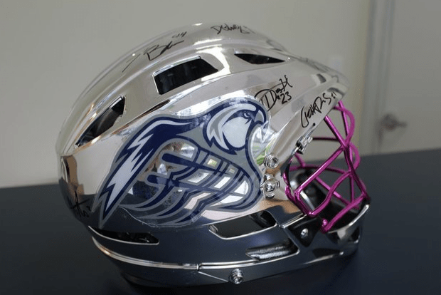 2012-chesapeake-bayhawks-lacrosse-helmet-auction
