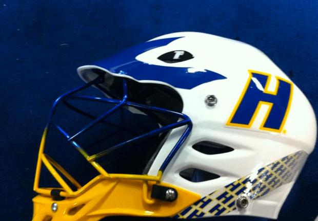 Hofstra-Men's-Lacrosse-Warrior-TII-Helmet