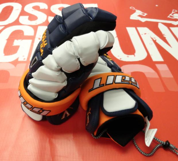 University of Virginia Lacrosse Gait Recon Pro Gloves