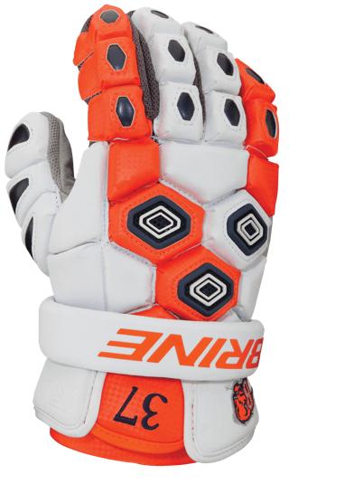 Bucknell Brine Triumph Lacrosse Gloves