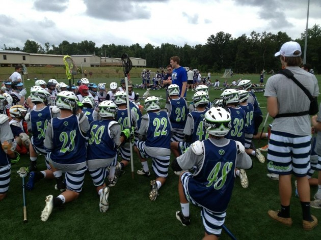 Brodie Merrill, Team 24/7 Lacrosse Hosts Major League Lacrosse All-Star Game Youth Tournament