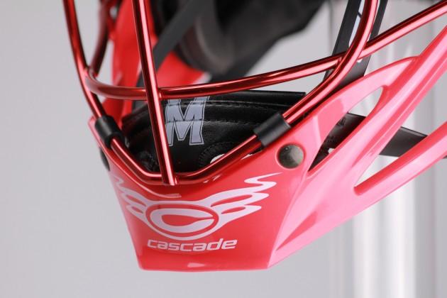 .@CascadeLacrosse and @GorillaWrapz Collab for Custom Maryland Helmets