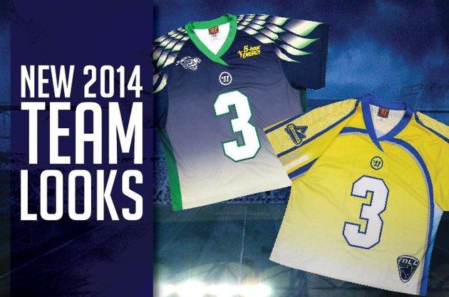 Major League Lacrosse Unveils New Uniforms