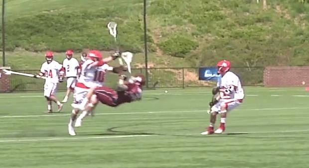 Huge Lacrosse Hit, Legal or Illegal?