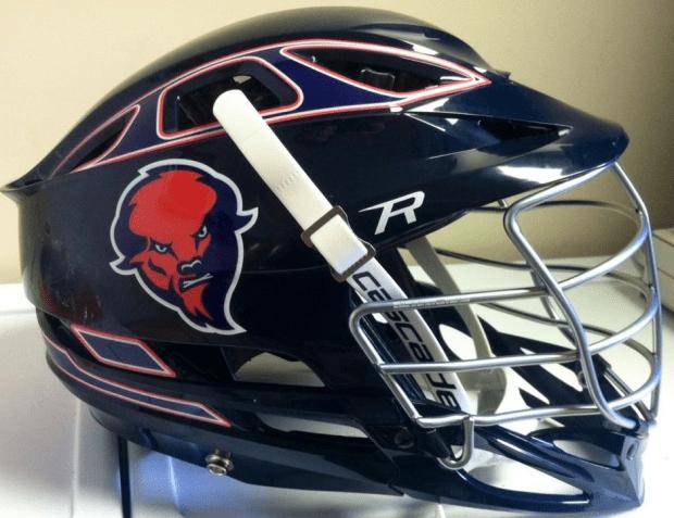 bison lacrosse cascade r helmet