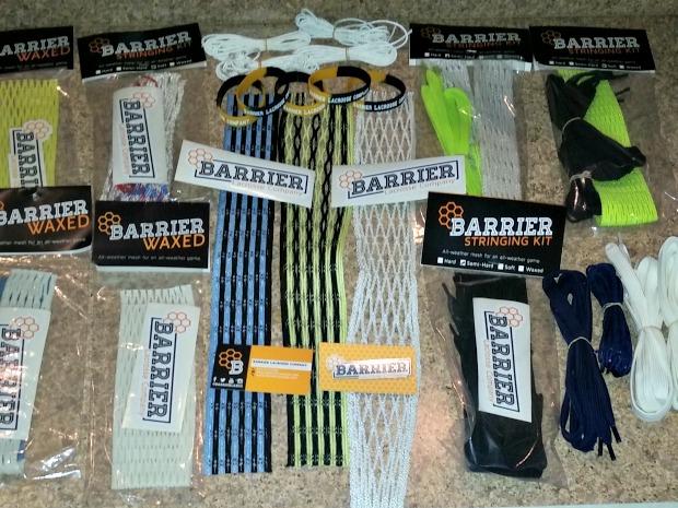 barrier lacrosse mesh