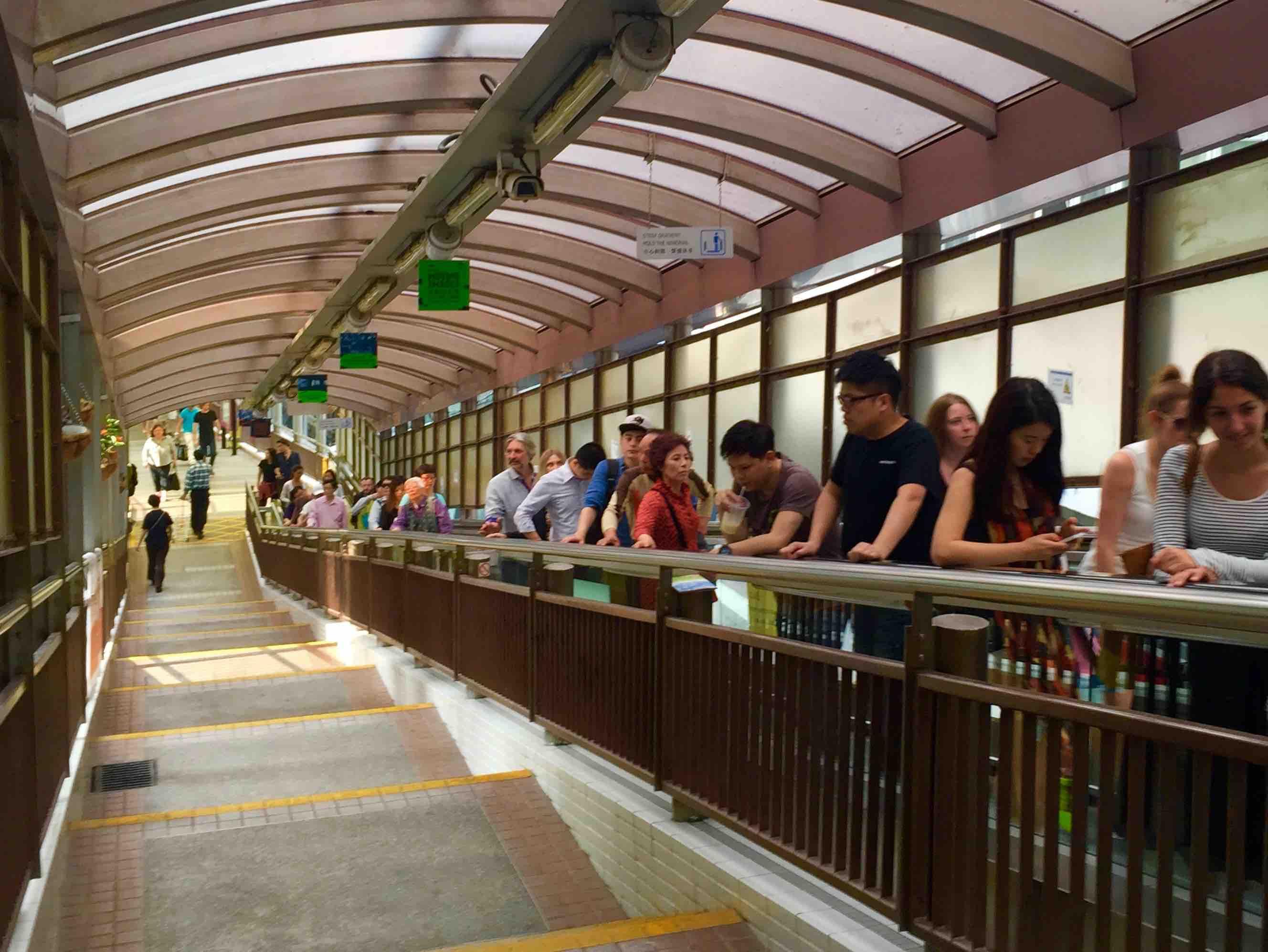 Soho escalator brings F&B customers to restaurants & bars to Soho Central